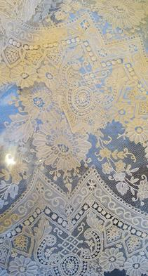 Exquisite Flounce of Brussels Lace circa 1880s(Sold)