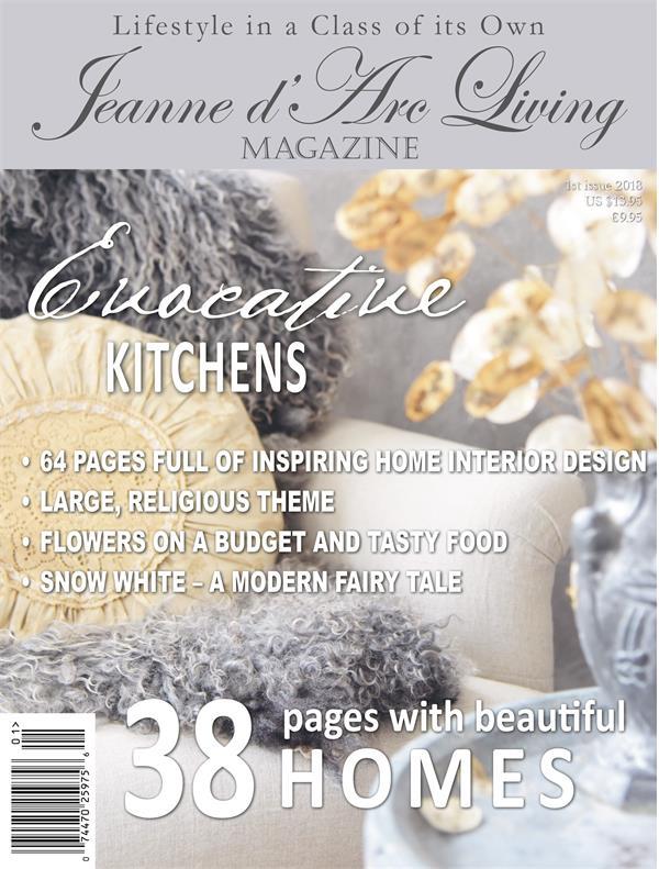 JANUARY 2018 Jeanne d'Arc Living Magazine #1 Brocante/Style