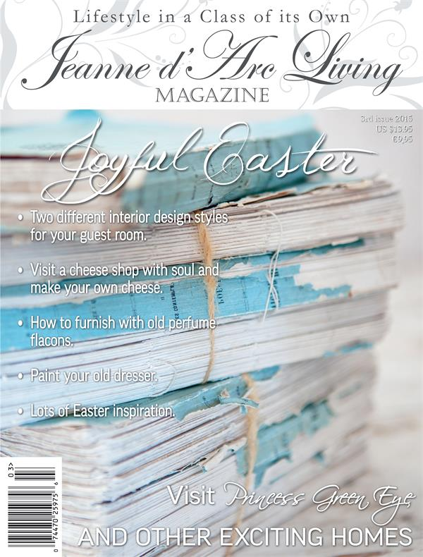 Jeanne d'Arc Living March 2015 Issue #3