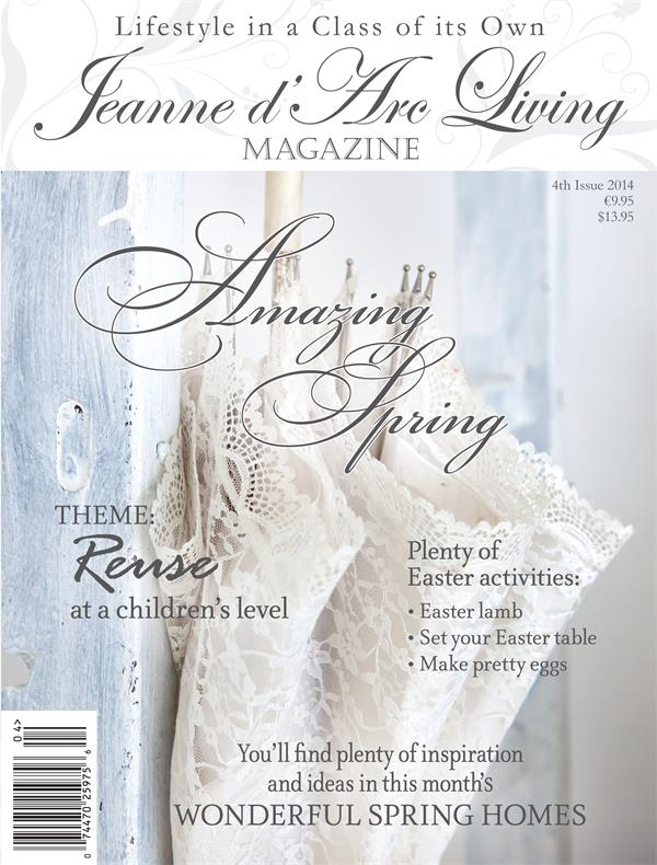 Jeanne d'Arc Living Magazine Issue #4 April 2014 Free Shipping