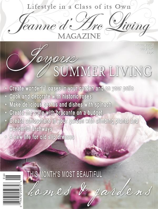 Jeanne d'Arc Living Magazine Issue #6 June 2016 PREORDER