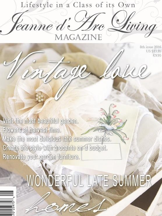 AUGUST 2016 Jeanne d'Arc Living Magazine Issue #8