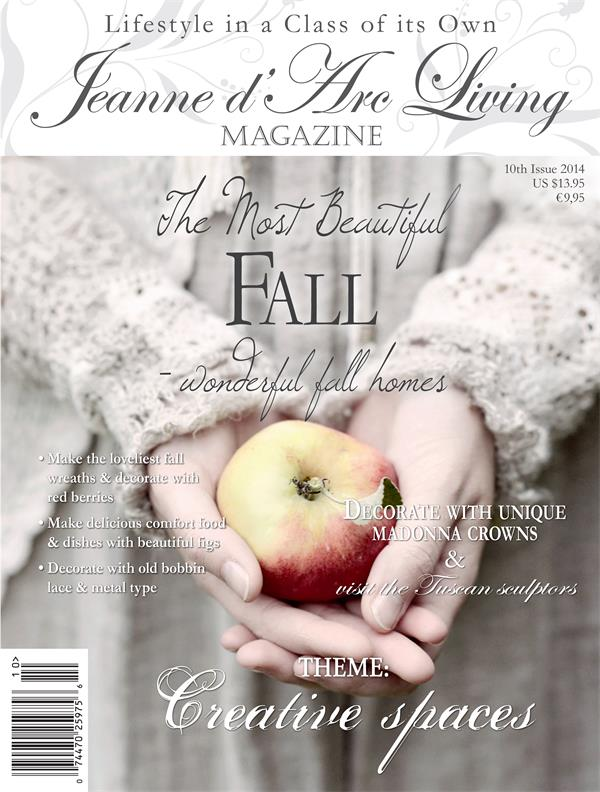 Jeanne d'Arc Living Issue #10 October 2014 ARRIVED