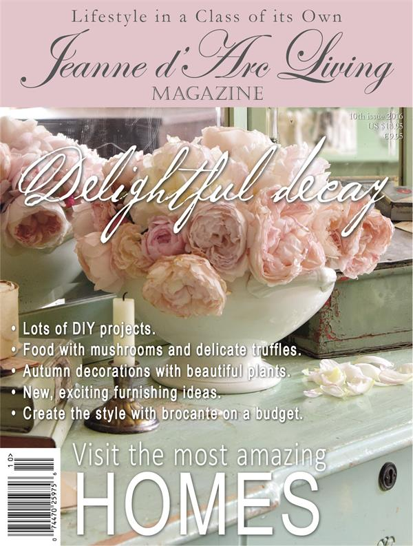 October 2016 Jeanne d'Arc Living Magazine Issue #10