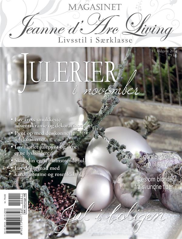 Jeanne D'Arc Living Magazine NOVEMBER Issue#11  2014  (PREORDER)