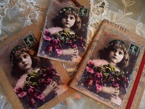 Bonne Annee Christmas Set Vintage Shiloh