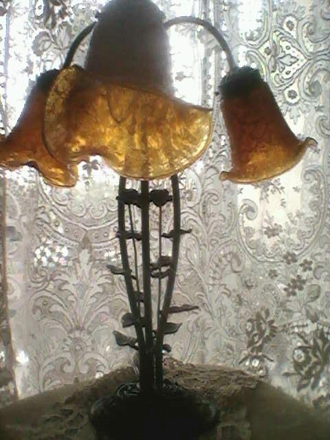 Art Nouveau Gatsby Era Lamp