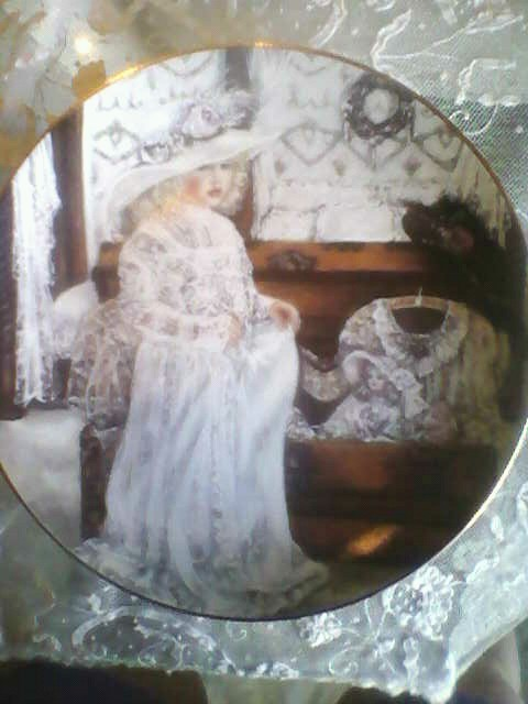 Olivia Plate by Corinne Layton (Sold)