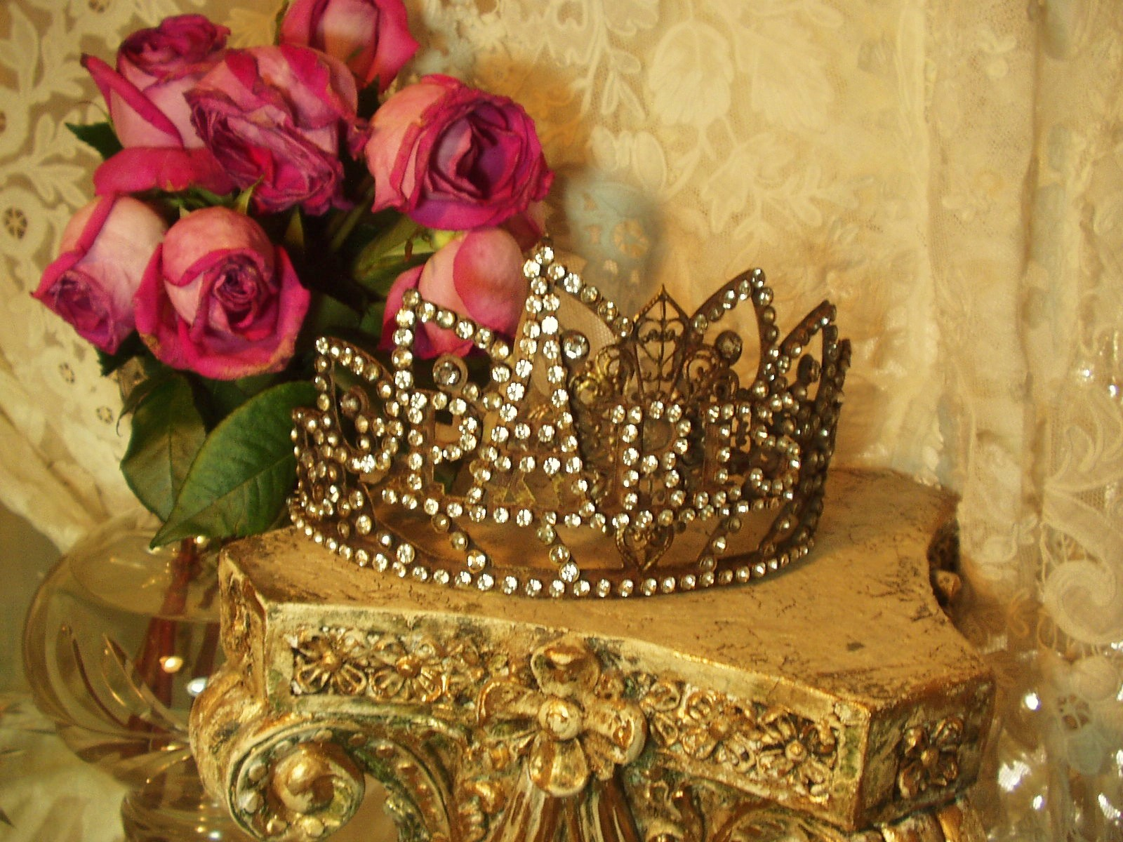 Vintage French PARIS CROWN 1800's Replica Style