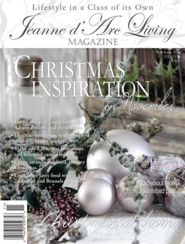 Jeanne D'Arc Living Magazine NOVEMBER Issue#11  2014  (I ship Today)