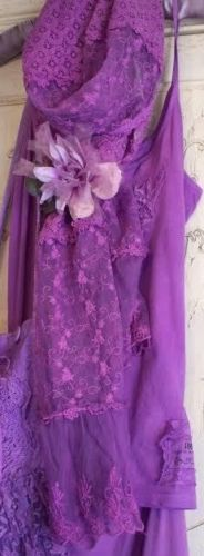 Jeanne d'Arc Living French Lilac Scarf/Shawl Color by Us! 90x16