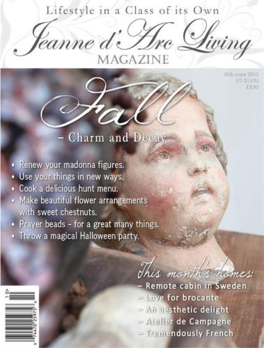 Jeanne d'Arc Living OCTOBER 2015 Issue #10 PREORDER