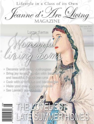 Jeanne d'Arc Living August 2015 Issue #8 ARRIVED