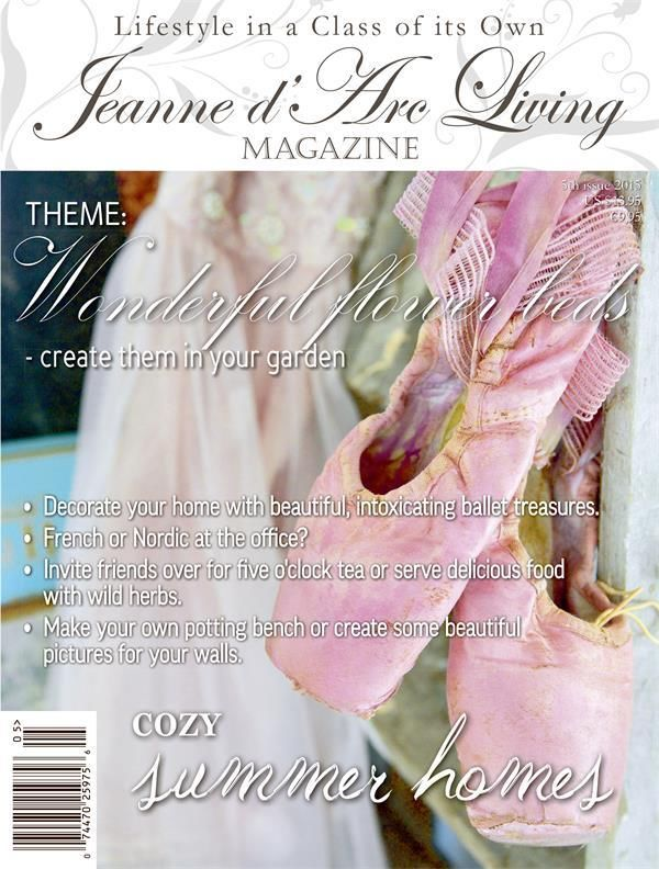 Jeanne d'Arc Living May 2015 Issue #5 A Preorder