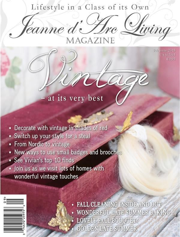 Jeanne d'Arc Living Magazine Issue #9 SEPTEMBER 2015 A PREORDER