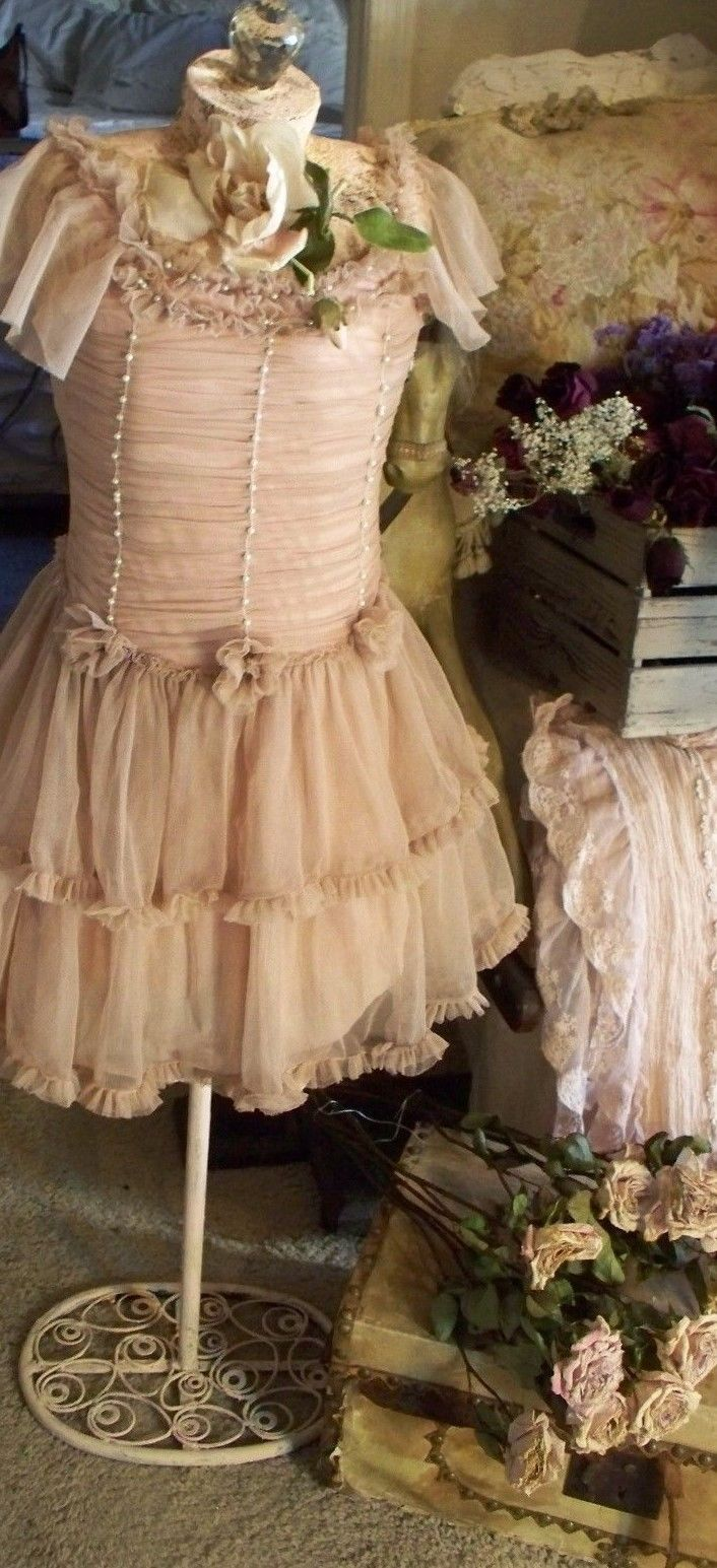 JDL Petite Princess Collection Powder Rose Tulle Dress Size 2,4,6