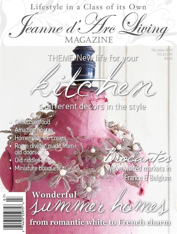 Jeanne d'Arc Living JULY 2015 Issue #7 ARRIVED