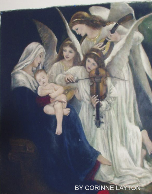 The Angels Serenade S/N Canvas Print 24x36