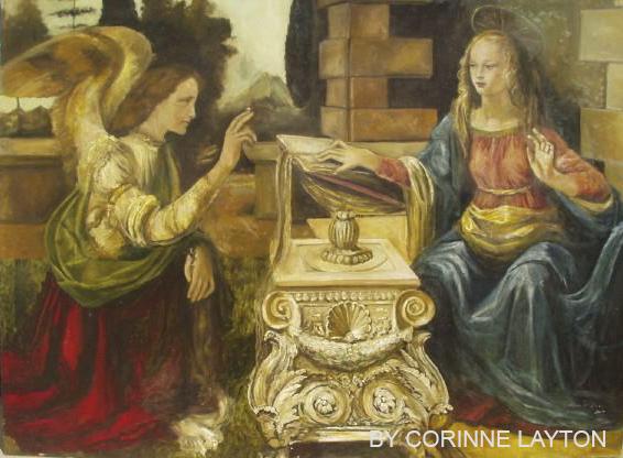 The Annunciation Poca Distanza