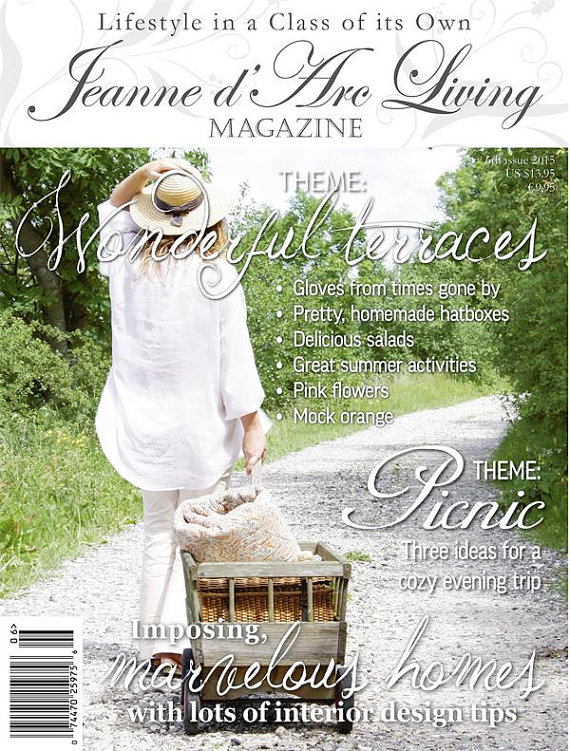 Jeanne d'Arc Living JUNE 2015 Issue #6 ARRIVED
