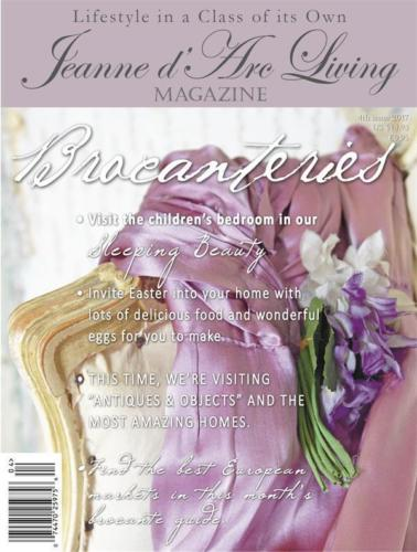 APRIL 2017 Jeanne d'Arc Living Magazine #4 Vintage/Brocante/Style