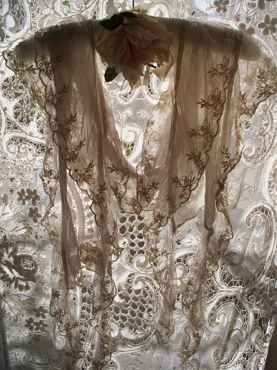 Exquisite Lace Scarf by Jeanne d'Arc Living