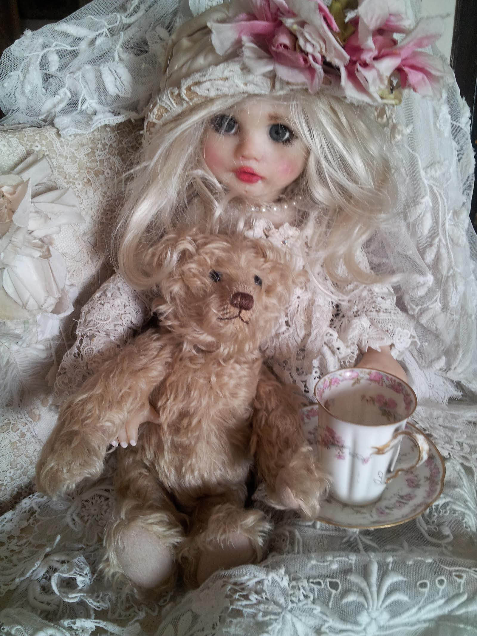 Vintage Shauna Original Cernit Doll by Corinne Layton(Sold)(Will Take Orders)